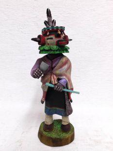 Native American Hopi Carved Deer Dancer Katsina Doll