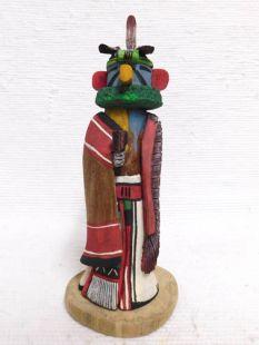 Native American Hopi Carved Eagle Dancer Katsina Sculpture
