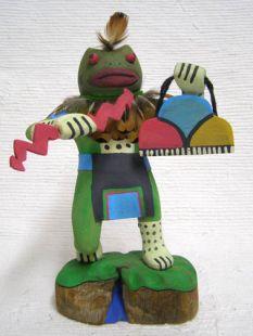 Native American Hopi Carved Frog Spirit Being Shape Shifter