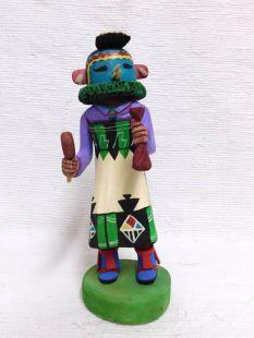 Native American Hopi Carved Korososta Planting Katsina Doll