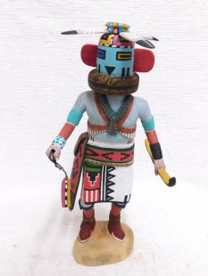 Native American Hopi Carved Thunder Katsina Doll