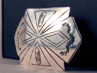 Vintage Native American Navajo Made Buckle
