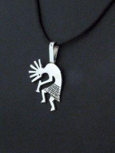 00Native American Navajo Made Pendant with Kokopelli