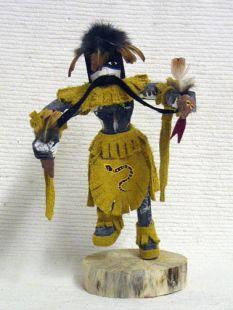 Native American Navajo Made Snake Dancer Kachina Doll