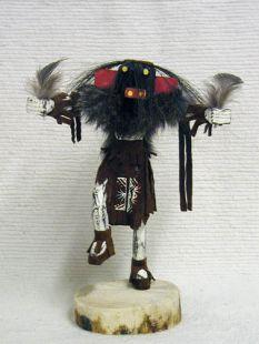 Native American Navajo Made Ogre Disciplinarian Kachina Doll