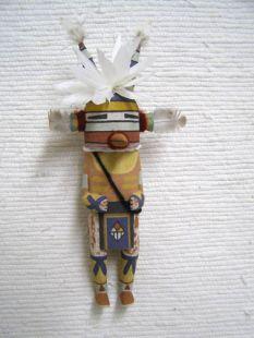 Old Style Hopi Carved Hornet Traditional Katsina Doll