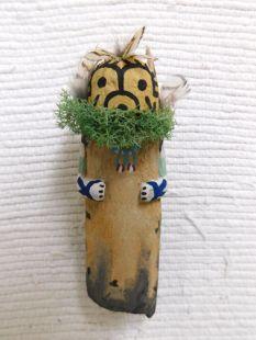 Old Style Hopi Carved Qoqooqlo Traditional Storyteller Katsina Doll
