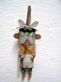 Old Style Hopi Carved Roadrunner Traditional Bird Katsina Doll
