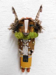 Old Style Hopi Carved Badger Traditional Powerful Healer Katsina Doll