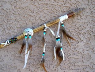 Native American Navajo Made Short Spear
