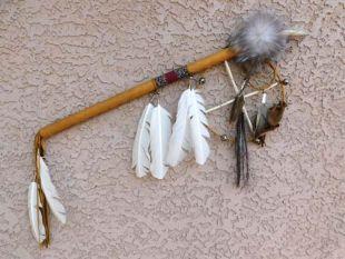 Native American Navajo Made XLarge Medicine Man Stick