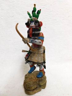 Native American Hopi Carved Cactus Katsina Doll