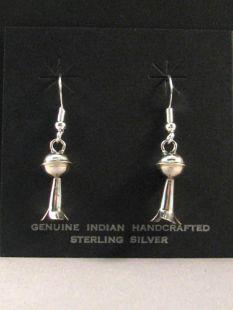 Native American Navajo Made Squash Blossom Earrings