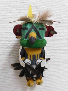 Old Style Hopi Carved Eagle Traditional Messenger Katsina Doll