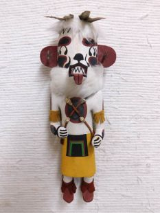 Old Style Hopi Carved Bear Traditional Powerful Healer Katsina Doll