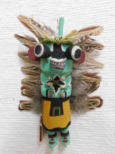 Old Style Hopi Carved Chasing Star Traditional Planetary Katsina Doll