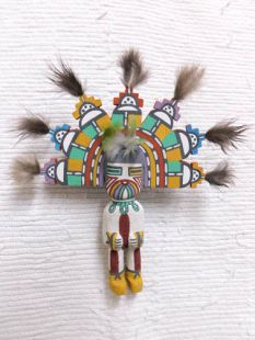 Old Style Hopi Carved Butterfly Maiden Traditional Katsina Doll