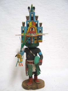 Native American Hopi Carved Hemis Katsina Doll