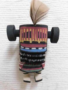 Old Style Hopi Carved Corn Maiden Traditional Katsina Doll