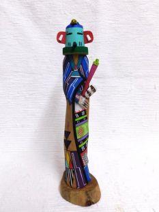 Native American Hopi Carved Hummingbird Katsina Sculpture