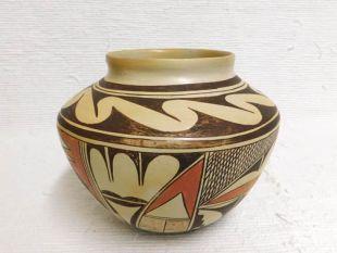Native American Hopi Handbuilt and Handpainted Pot
