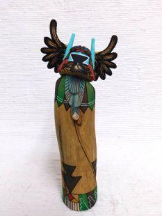 Native American Hopi Carved Crow Mother Katsina Sculpture