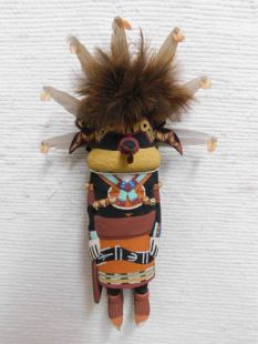 Old Style Hopi Carved Racer Snake Traditional Guard Katsina Doll