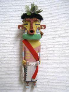 Old Style Hopi Carved Heheya Amutaga Traditional Messenger Katsina Doll
