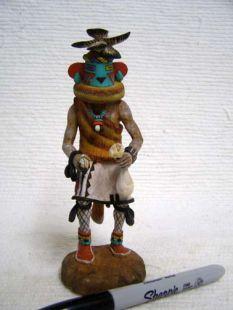 Native American Hopi Carved Aha Chief Katsina Doll