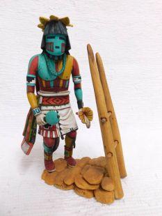 Native American Hopi Carved Butterfly Dancer Katsina Doll