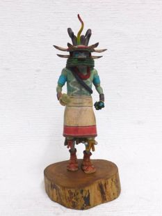 Native American Hopi Carved Antelope Katsina Doll