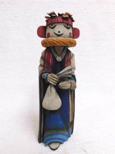 Native American Hopi Carved Grandmother Katsina Sculpure