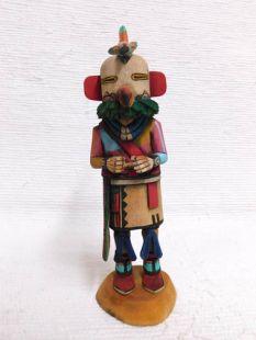 Native American Hopi Carved Parrot Katsina Doll