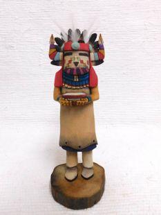 Native American Hopi Carved Supai Maiden Katsina Doll