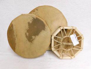Native American Cherokee/Apache Made Single Sided Buffalo Hand Drums