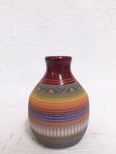 Native American Navajo Red Clay Pot