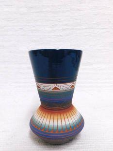 Native American Navajo Red Clay Vase
