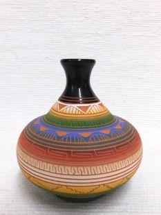 Native American Navajo Red Clay Smoke Pot