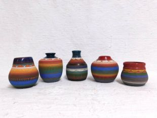 Native American Navajo Red Clay Pots--Small Assorted