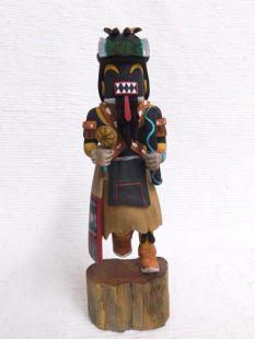 Native American Hopi Carved Chakwaina Warrior Katsina Doll