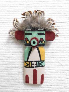Old Style Hopi Carved Morning Singer Traditional Katsina Doll Ornament