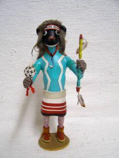 Antique Native American Hopi Carved Buffalo Great Spiritual Protector Katsina Doll