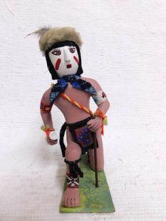 Native American Hopi Clown Katsina Doll