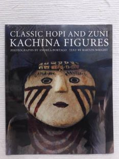 Classic Hopi and Zuni Kachina Figures by Andrea Portago and Barton Wright