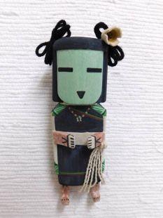 Old Style Hopi Carved Hano Mana Datura Traditional Katsina Doll