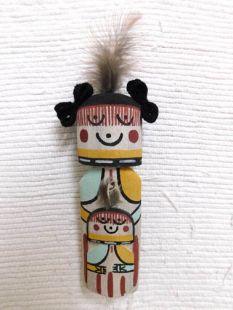 Old Style Hopi Carved Grandmother Traditional Katsina Doll