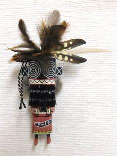 Old Style Hopi Carved Hillili Traditional Guard Katsina Doll