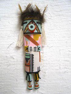 Old Style Hopi Carved Malo Traditional Katsina Doll