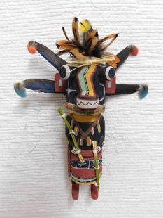 Old Style Hopi Carved Hoote Traditional Katsina Doll