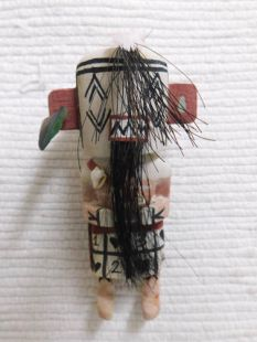 Old Style Hopi Carved Rock Eater Traditional Angry Katsina Doll